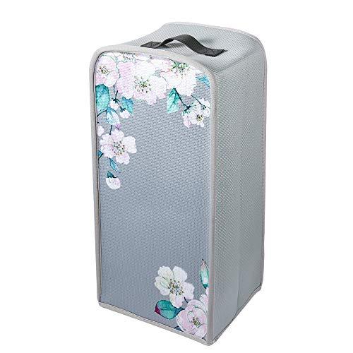 Bluecell Blender Dust Cover Home Appliance Blender Neoprene Dust Cover Fingerprint Protection (Flower-1)