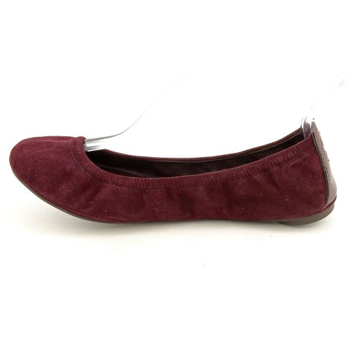 Shoes Eddie Burgundy Suede 5 Womens Burch Kid Size US Tory 6 Ballet Flats RfcwOqnAU1