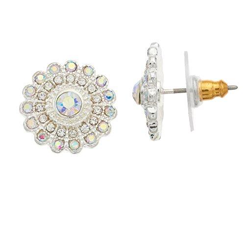 LC Lauren Conrad Floral Nickel Free Stud (Lauren Conrad Jewelry)