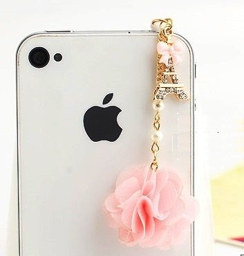 Ip167 Tinkerbell Fairy Anti Dust Plug Cover Charm for Iphone Android
