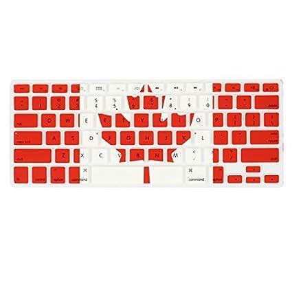 eDealMax La Bandera de Canadá teclado cubierta de la película del Protector Para Apple MacBook Air