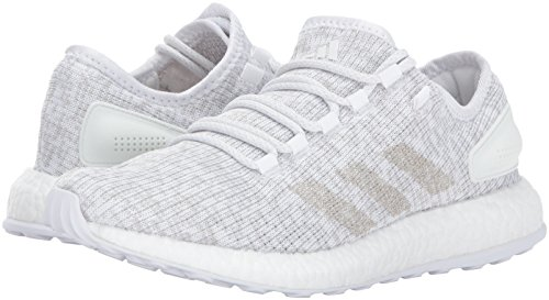 Pictures of adidas Men's Pureboost Grey ONE/White S81991 White/Grey One/White 4