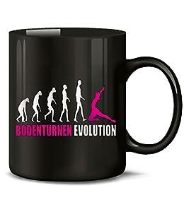 BODENTURNEN EVOLUTION 586(Schwarz-Pink)