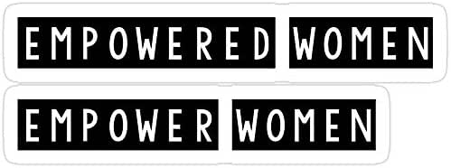 Vijk kor Empowered Women Empower Women Stickers (3 Pcs/Pack)