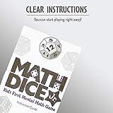 ThinkFun Math Dice Junior Game for Boys and Girls