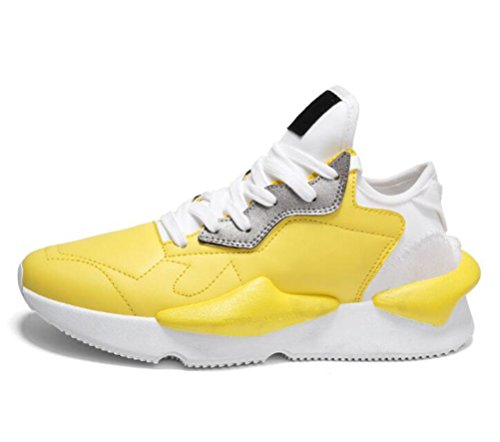 Piel Scennek Yellow 01 Hombre de Zapatilla Otra Baja xTwUqOF61