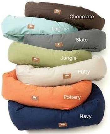 Amazon Com West Paw Design Bumper Bed Small Chocolate 23x19 Pet Beds Pet Supplies