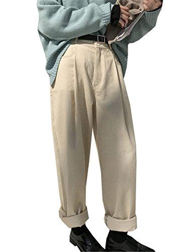 Flare Tinta Harem JOTHIN Corea Inverno Donna Pinces Larghi lavaggio con Pantaloni 2017 Calzoni Unita Flangiatura Casual Pantalone Eleganti Cintura HHr8wqOx