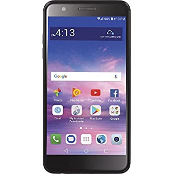 Amazon com: TracFone LG Rebel 4G LTE Prepaid Smartphone with Amazon