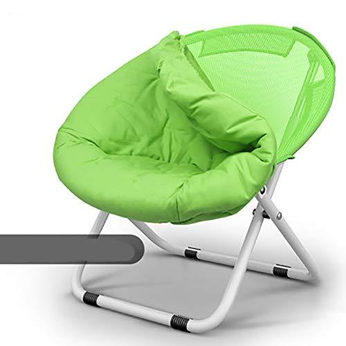 デッキチェア- 折りたたみ椅子 - 怠惰なバックホームリクライニングチェア折りたたみ昼休み大人の幸せな寮ポータブル寝室の学生レジャーチェア (Color : F) B07T5S86R4 F