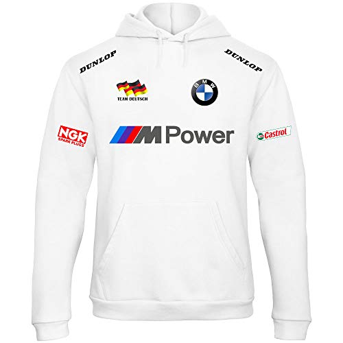 Rally shirt Bmw Rb08 Sweat À Sweat Motorrad Capuche Blanc Mpower Racing wCC48xqtI
