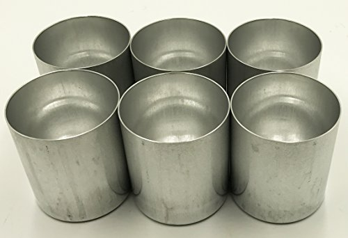 Aluminum Seamless Candle Mold - Candlewic 6pk of 3 x 3. 5