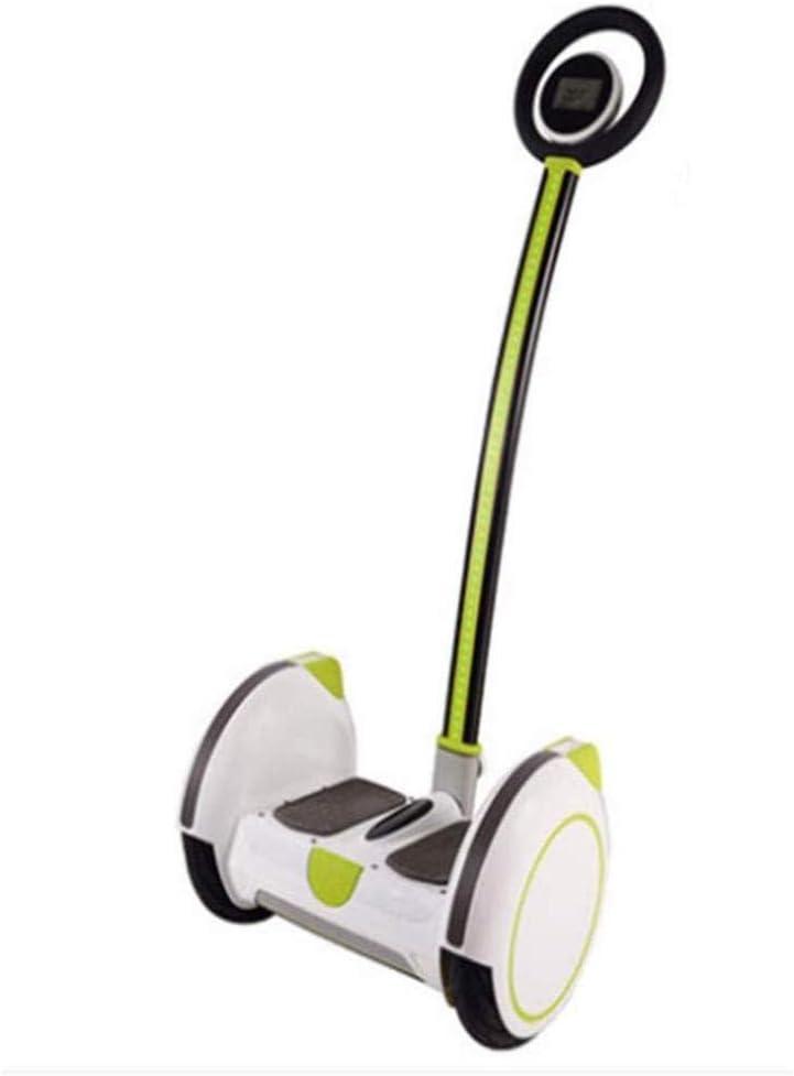 HIGHKAS Balanceador eléctrico, para Adultos y niños Scooter para niños autobalanceable somatosensorial Desmontable portátil para niños, Blanco