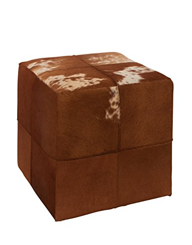 Deco-79-95917-Wood-Leather-Hide-Ottoman-15-x-16