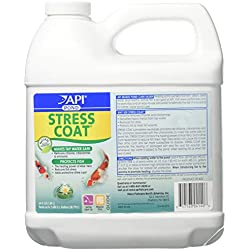 PondCare 317163041406 140d 64 Oz Stress Coat Fish & Water Conditioner