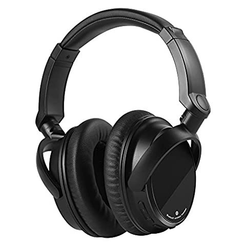Allkeys Bluetooth Headphones Over-Ear Wireless Adjustable Hi-fi Stereo Lightweight Headset with Rechargeable Battery and Microphone for iPhone, iPad, Samsung, Sony (Over Ear Headphones Blue Tooth)