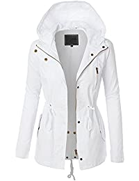 Amazon.com: White - Trench, Rain & Anoraks / Coats, Jackets ...