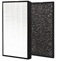 1 Set Levoit Air Purifier LV-PUR131 Compatible HEPA Filter Plus Carbon Pre Filter Placement