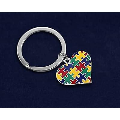 Autism Awareness Puzzle Keychain!