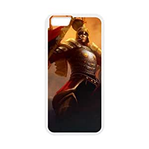 League of Legends(LOL) Winged Hussar Xin Zhao iPhone 6 4.7 Inch Cell Phone Case White DIY Gift pxf005-3626704