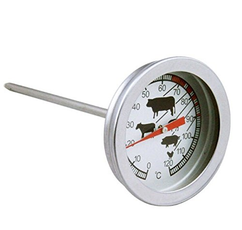 Thermometer Dolphin (Beef BBQ thermometer 0-120 degree food special probe type coffee milk thermometer)