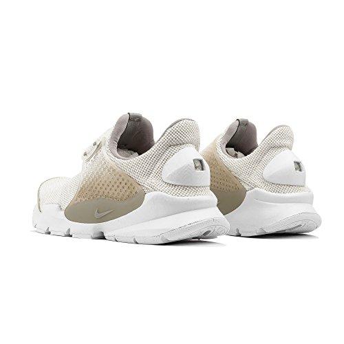 Nike Mens Socka Dart Sig Premie Löparskor Segel / Vit
