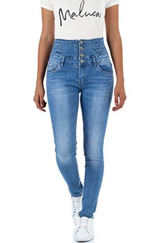 Skinny malucas Bleu Bleu Bleu Jeans Femme AnwxUq7g6