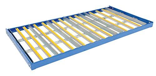 (Vestil GFL-9648 Pallet Rack Gravity Flow Shelf, 48