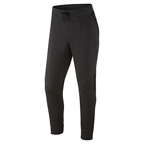 Nike Men's Jordan Modern Fleece Sweatpants, Black Heather/Black