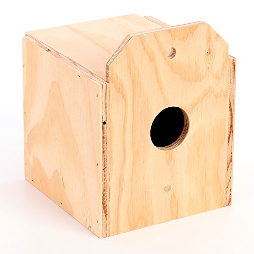 Ware Manufacturing Wood Finch Reverse Nest Box, Finch ()