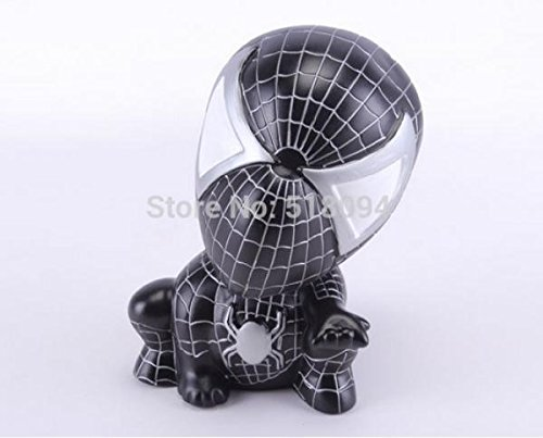 Spider-man Piggy Coin Bank PVC Figure Toys Dolls Gifts for Children Style 1