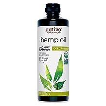 Nutiva 100% Organic Hempseed Oil 710ml