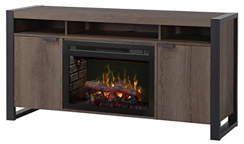 Cheap DIMPLEX Pierre Media Console Electric Fireplace with Logs Black Friday & Cyber Monday 2019