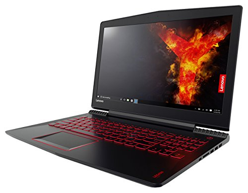 Lenovo Legion Y520 – 15.6″ Gaming Laptop Computer i5-7300HQ / Nvidia GeForce GTX 1050 Ti 4GB / 8GB DDR4 DRAM / 256GB PCIe SSD / Windows 10 Signature Image 80WK00FHUS