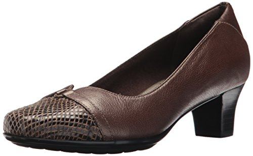 Aravon Womens Eleanor Jurk Pump Brons