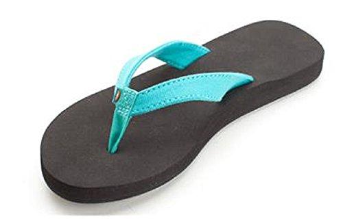 6 Rainbow Bella Teal Sandals Sandals Women's z0qwrz
