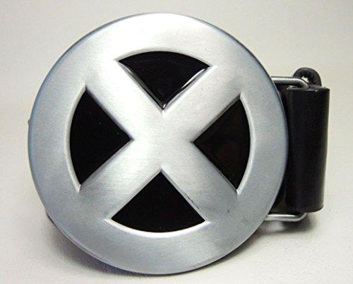 X-Men Belt Buckle & Belt (Xmen Fancy Dress)