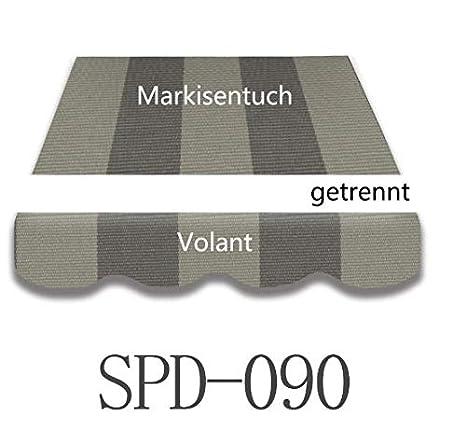 Volant 3,5 x 3 m  Fertig genäht SPD-069 Markisenstoff Markisenbespannung inkl