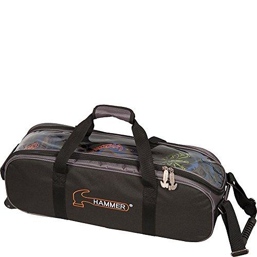 Hammer Premium Triple Tote Bowling Bag, - Hammer Bag Ball Bowling 3