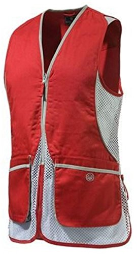Beretta Women's Silver Pigeon Shooting Vest, Red, Small