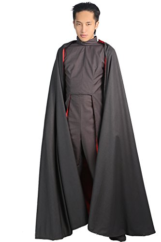 Magneto Mask Costume (Magneto Costume X Cosplay Men Origins Outfit Suit Halloween Clothing XL)