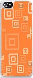 Ultra Slim for iPhone 5c iPhone Orange geometric patterns hongguo's case