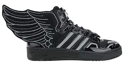 1277b8eb3 adidas Jeremy Scott Mesh Wings 2.0 Mens in Black White by