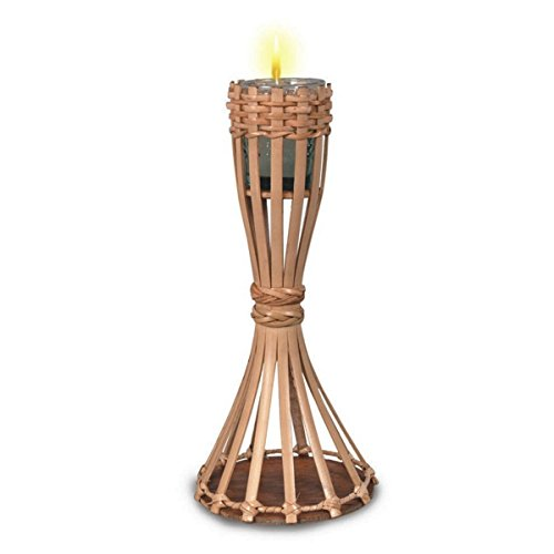 Tabletop Bamboo Torch (candle included) Party Accessory  (1 count) (1/Pkg)