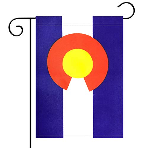 - Garden Flag Colorado State Flag Garden Flag,Garden Decoration Flag,Indoor and Outdoor Flags,Celebration Parade Flags,CO State Party Events Celebration,Double-Sided.