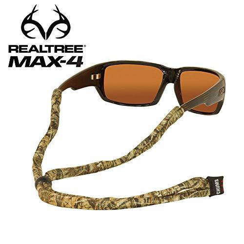 Chums Original LTD Polyester Standard End Eyewear Retainer, Realtree Max 4, Standard