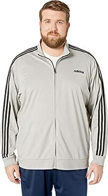 Big Tall Essentials 3 stripe Tricot Track Jacket