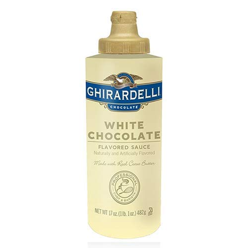 Ghirardelli White Chocolate Sauce 17oz Squeeze bottle ()