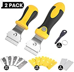 Mlife 2 PCS Muti-Purpose Razor Scraper S...