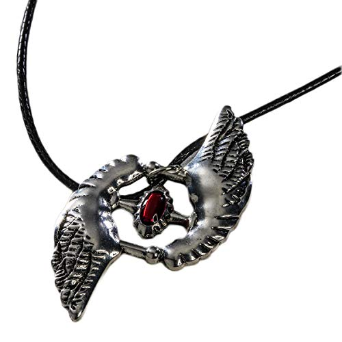 Devil May Cry 5 Nero Necklace Cosplay Accessories DMC 5 Zinc Alloy Pendant Necklace Game Anime Jewelry for Unisex (Devil May Cry 2 Dante Costume)